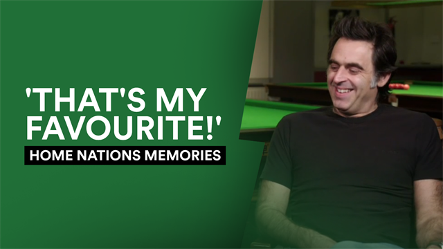 'It was just magical!' - O'Sullivan looks back at Home Nations memories