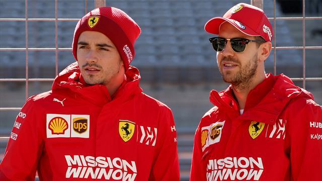 Vettel mit weihnachtlicher Geste: Geschenk für Rivalen Leclerc