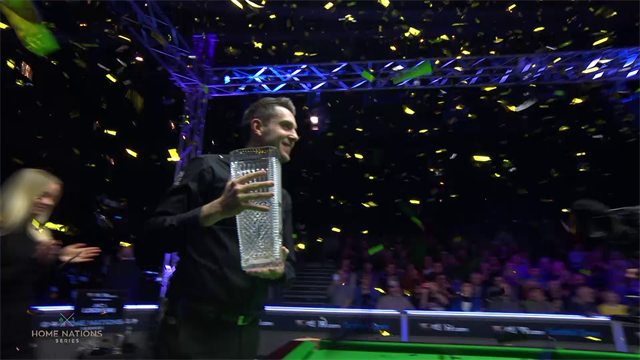 Highlights: Flukes and fouls as Selby wins Scottish Open final