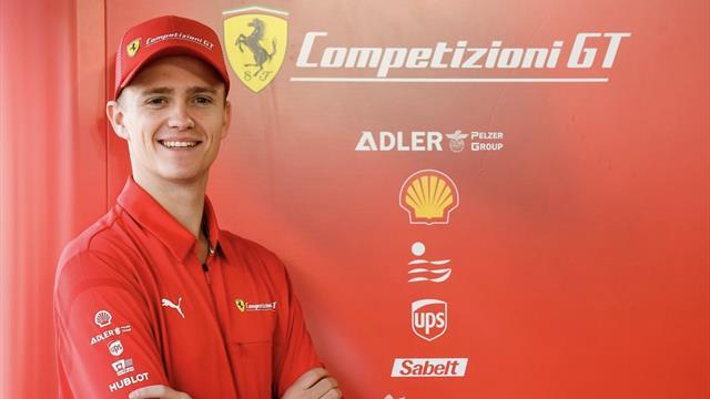 Nicklas Nielsen lander flot Ferrari-kontrakt