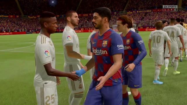 Liga Virtual: Así ha quedado el Clásico Barcelona-Real Madrid