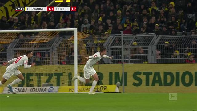 Highlights e gol Borussia Dortmund-Lipsia 3-3 VIDEO, Bundesliga 2019/2020