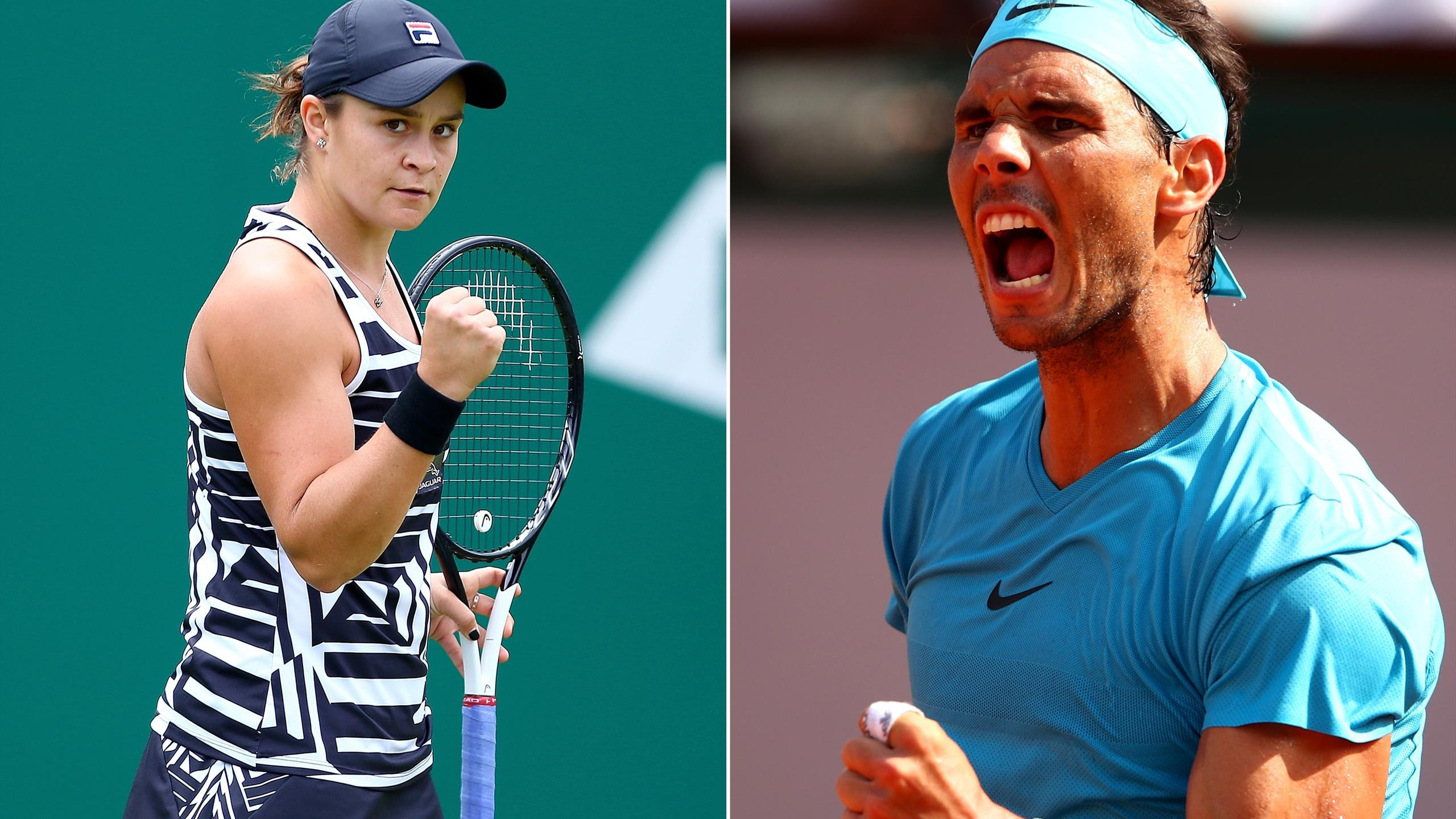 French Open Who S In And Who S Out Will Rafael Nadal And Ashleigh Barty Defend Their Titles Eurosport