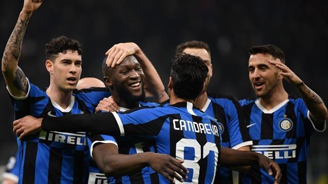 Lukaku scores twice as Inter Milan rejoin Juventus at the top of Serie A