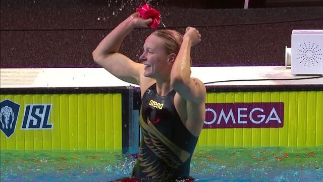 International Swimming League: Sarah Sjostrom wins Finale 50 Free skins