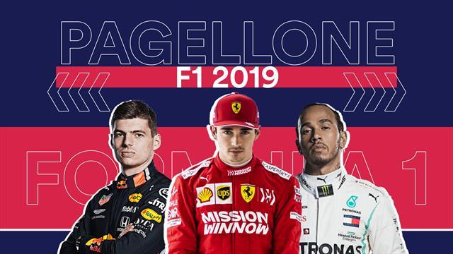 Il pagellone della F1 2019: Hamilton professore, Leclerc talento vero, Ferrari luci e ombre