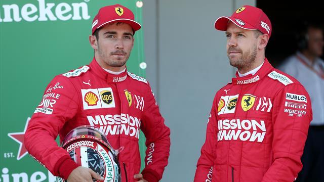 Ferrari-Duell 2020 offen: Vettel verliert seinen Nummer-eins-Status