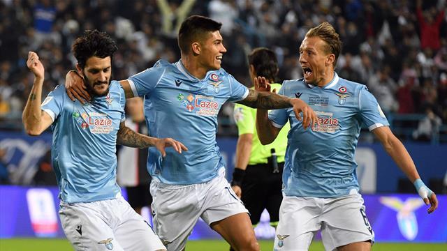 Même affiche, même résultat : la Lazio s'offre encore la Juve et le trophée