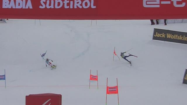 Vinatzer walks away from spectacular Alta Badia crash