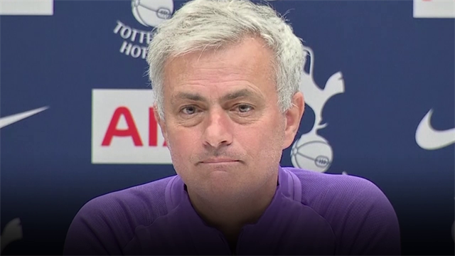 """Mourinho: """"Eriksen col Norwich è convocato e giocherà"""""""