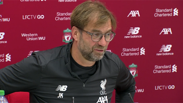 Klopp hails 'top-class' Leicester ahead of Boxing day clash