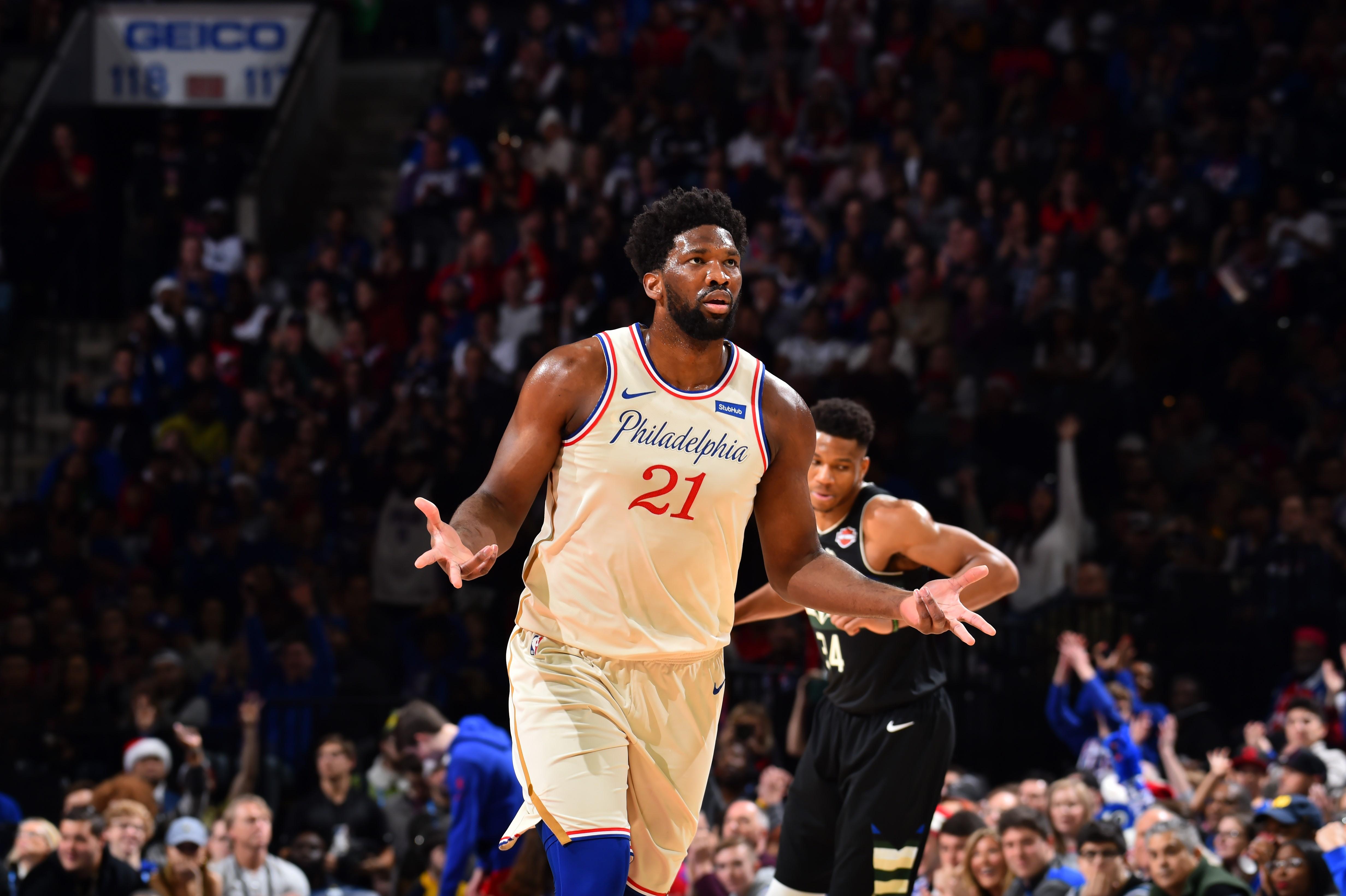 Joel Embiid | Philadelphia 76ers-Milwaukee Bucks