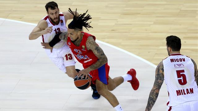 Basket: Eurolega, Cska Mosca-Ax Milano 78-75