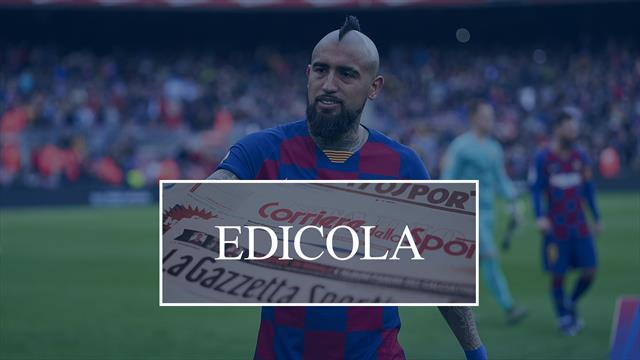 Calciomercato Inter, Vidal denuncia il Barcellona: la situazione