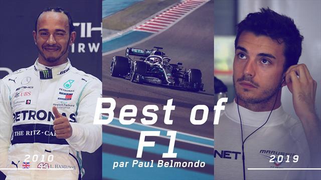 Le show Hamilton, la puissance Mercedes, le regretté Bianchi... Belmondo se souvient des années 2010
