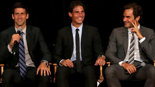 C'est confirmé : Djokovic, Nadal et Federer ont un groupe WhatsApp pour communiquer