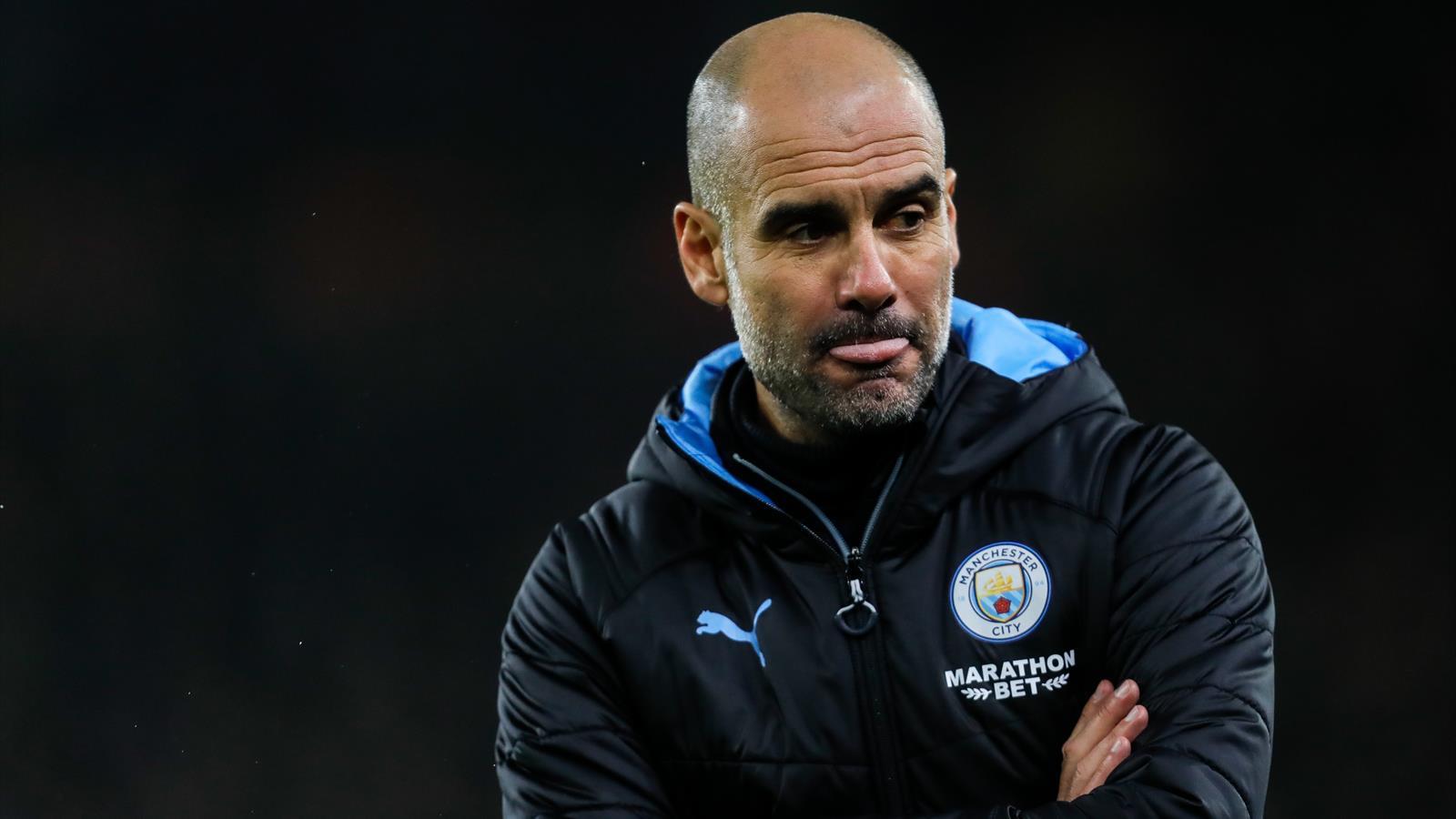 Пеп Гвардиола тренер Манчестер Сити