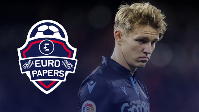 Euro Papers: Odegaard makes stunning move to England... or does he?