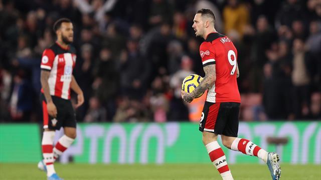 Ings keeps up hot streak, earns Southampton point vs Palace
