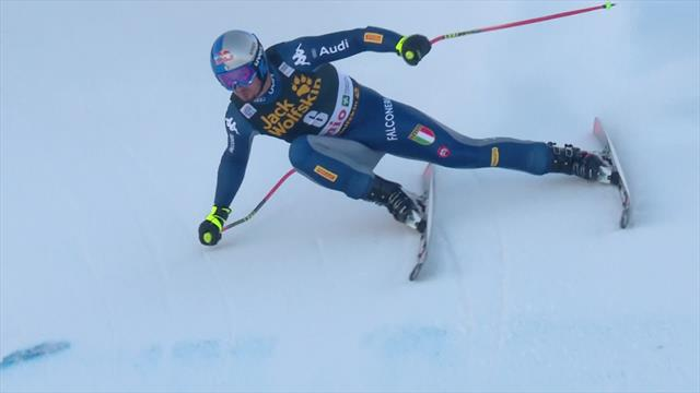 'The treble is looking good here!' - Paris puts in storming Downhill run