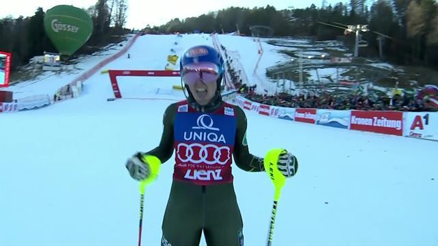 Shiffrin storms to slalom victory in Austria