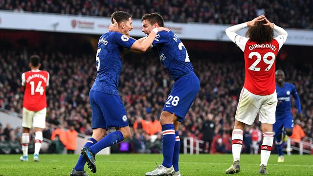 Arsenal-Chelsea, derby da Premier League: diretta su Sky