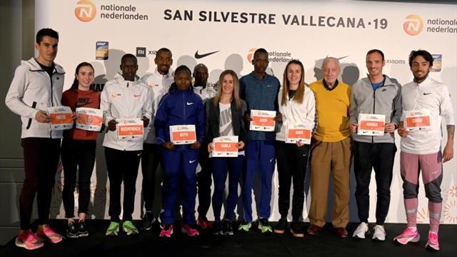 Los españoles valoran sus opciones en la San Silvestre Vallecana 2019