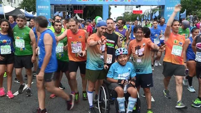 Más de 11.000 personas despiden el año corriendo en Buenos Aires