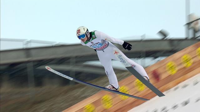 Триумфальный прыжок Линдвика в Гармише