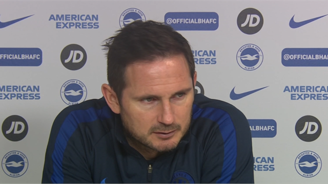 'Brighton draw showed good and bad of Chelsea' - Lampard