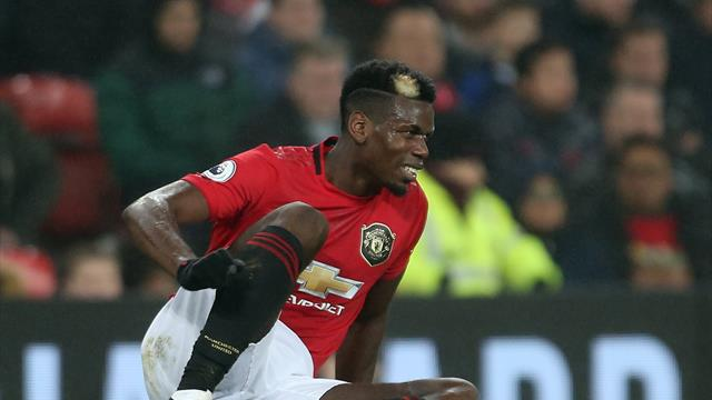 Ole Gunnar Solskjaer: Paul Pogba out for 'three or four weeks'