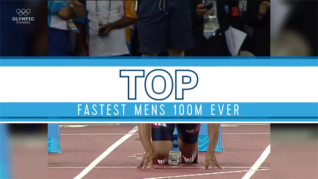 Best Olympics moments : Top Fastest Men's 100m in Olympic History!