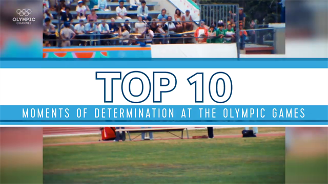 Best Olympics moments: Top 10 moments of determination at The Olympics