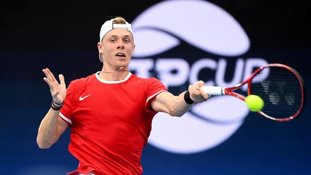 Grosses surprises pour les débuts de l'ATP Cup