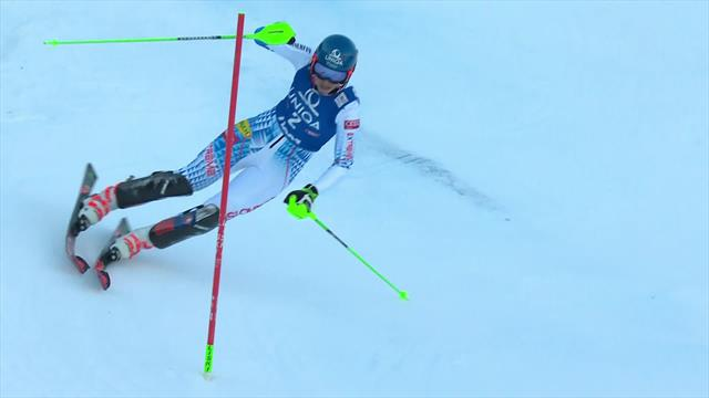 Vlhova sets pace with fantastic first run in Zagreb
