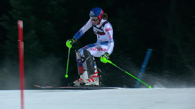Vlhova 'turns the tables' on Shiffrin with victory in Zagreb