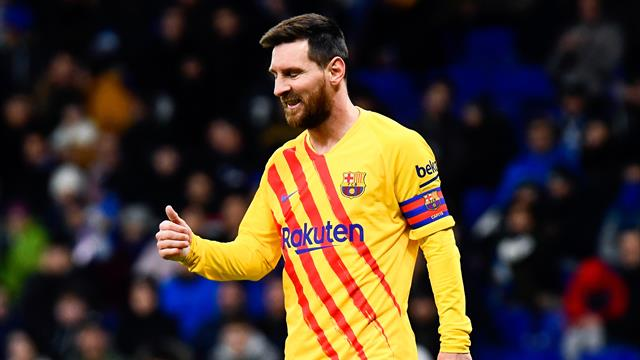 """Messi : """"Je pense de moins en moins à marquer des buts"""""""