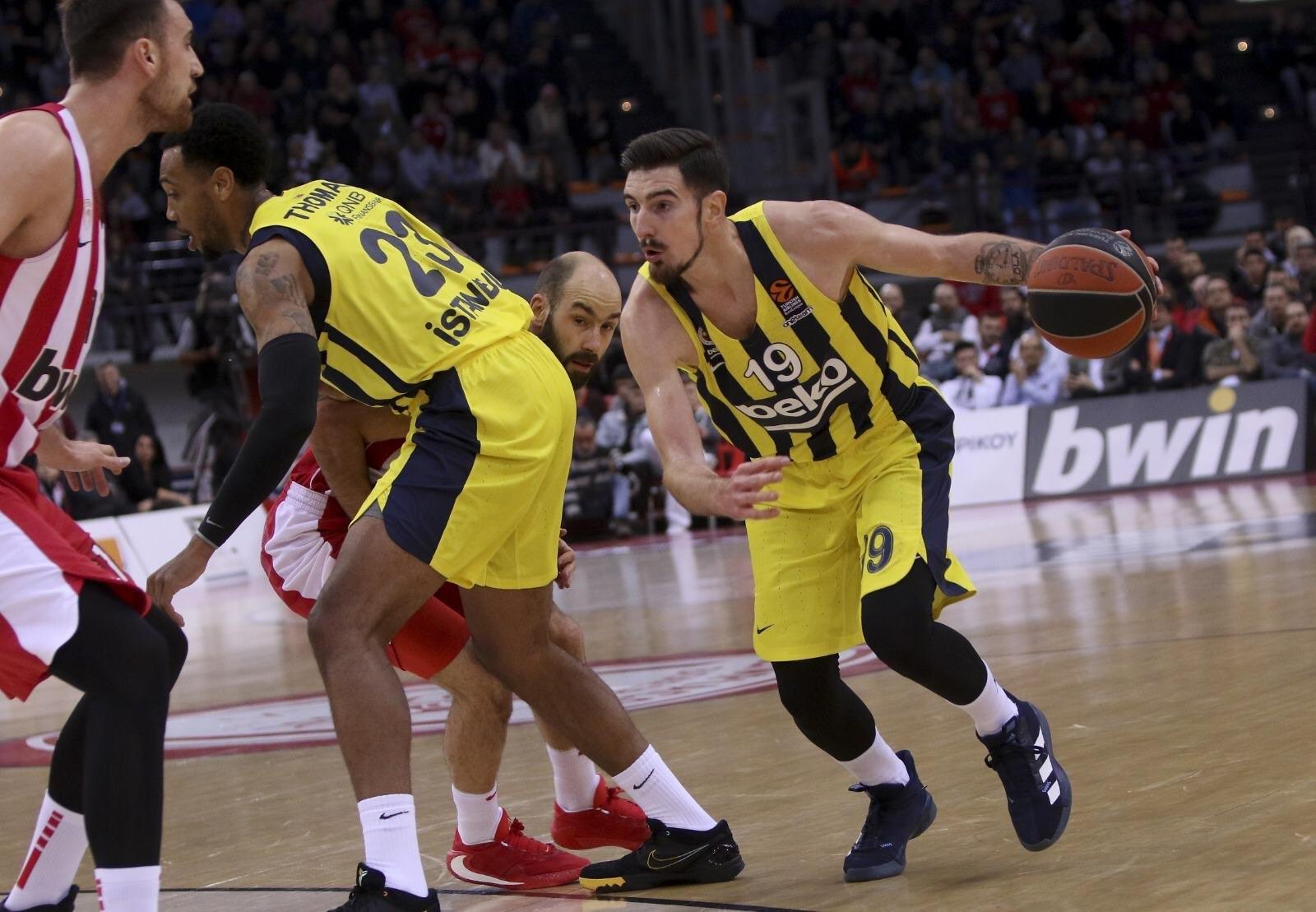Nando De Colo | Olympiakos - Fenerbahçe Beko | Euroleague
