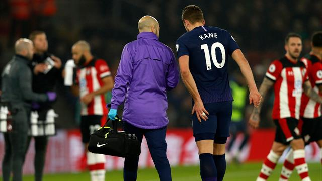 Kane out until April with hamstring injury as Spurs confirm surgery