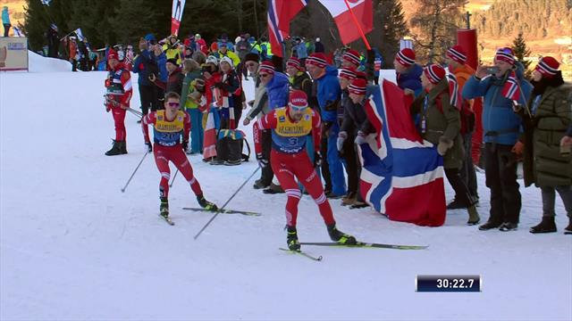 Bolshunov lifts Tour de Ski title after finishing third in final stage