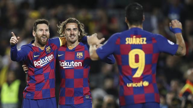 Barca top Money League as eight Premier League teams make top 20