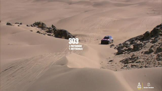 Dakar 2020 highlights: Stage 1, cars