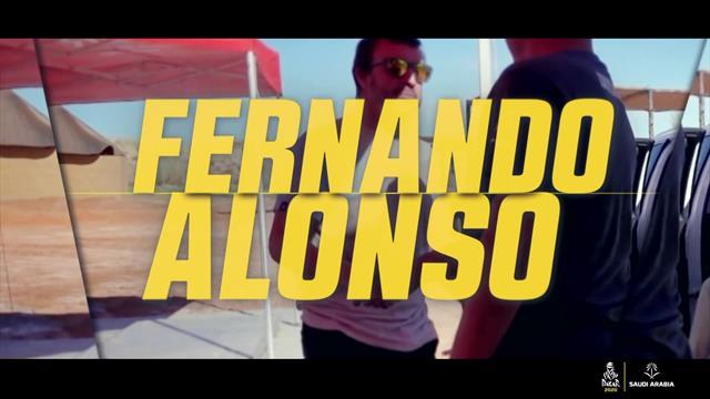 Fernando Alonso takes on the Dakar Rally