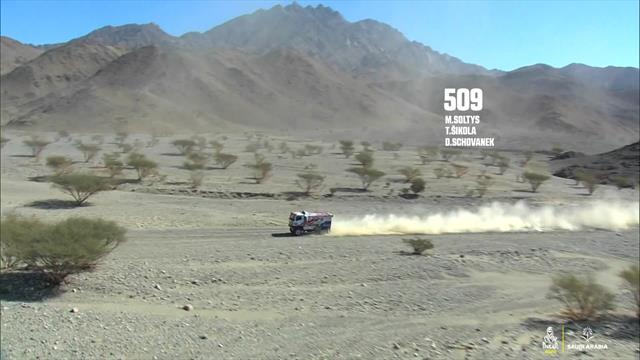 Dakar, 1a tappa camion: Shibalov piazza l'acuto con il Kamaz
