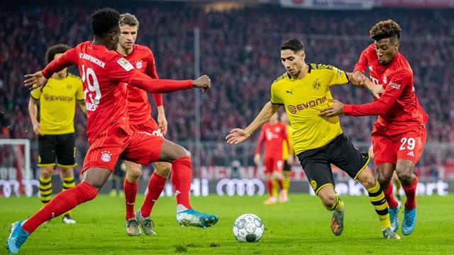 Bayern erkundigt sich nach BVB-Star Hakimi