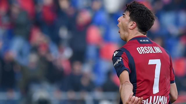 Bologna-Fiorentina 1-1: Orsolini risponde a Benassi