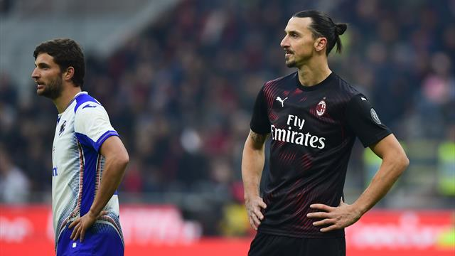 Zlatan's AC Milan return ends in disappointing goalless draw