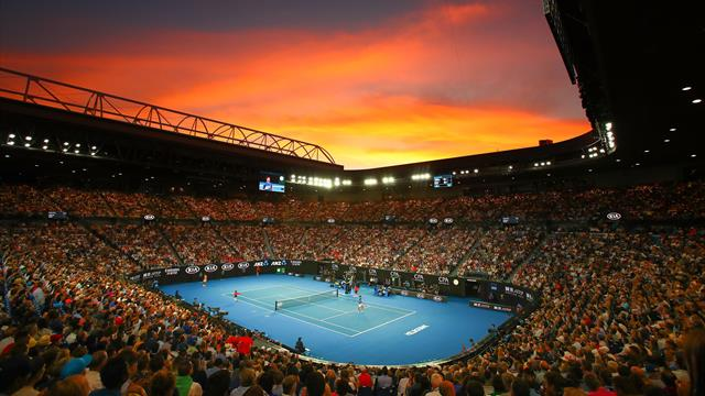 Australian Open practice suspended due to poor air quality