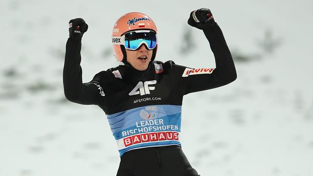 The moment Kubacki sealed Four Hills glory in Bischofshofen