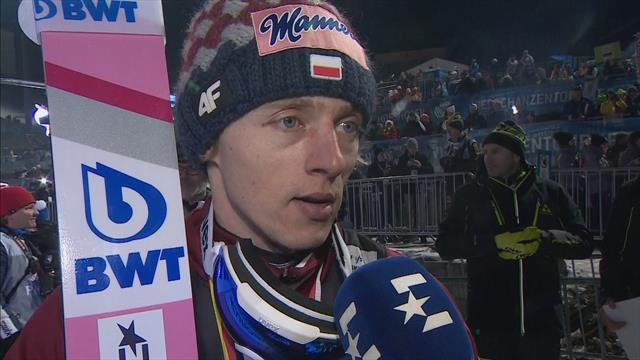 Vierschansentoernooi | Interview met Dawid Kubacki na zijn overwinning in Bischofshofen